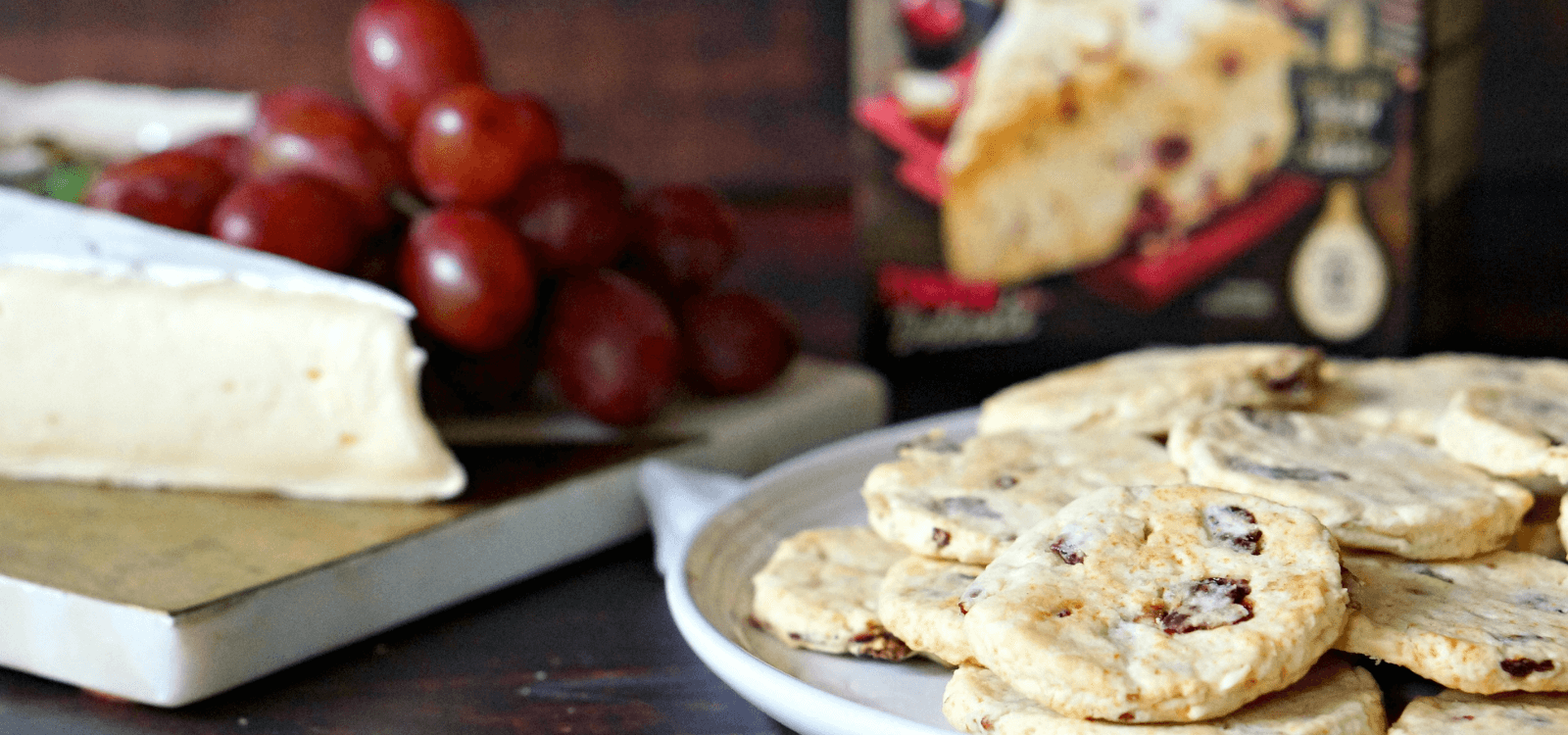 Cherry and Herb Scone-Crackers