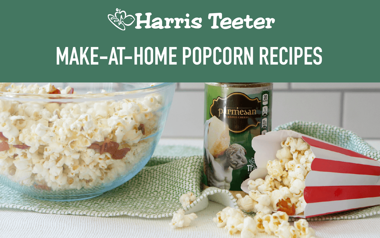 Make At Home Fancy Popcorn