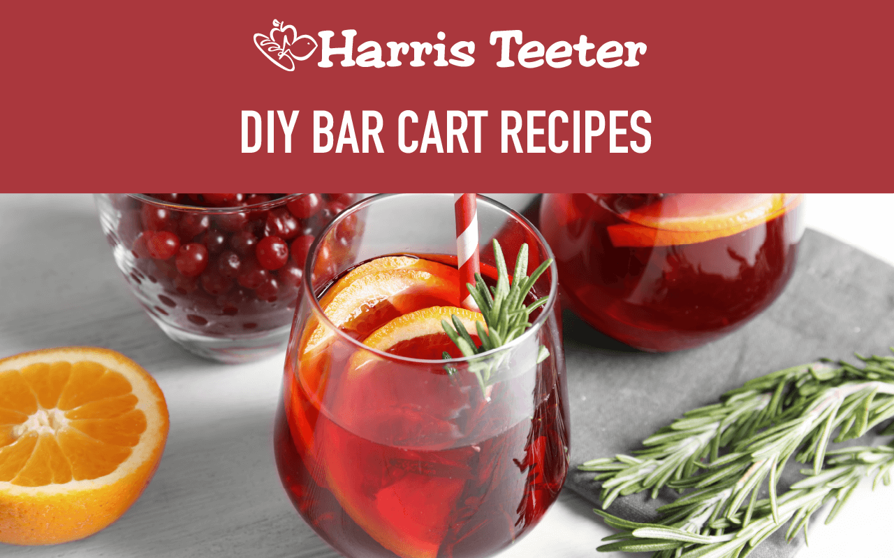 DIY Bar Cart Recipes