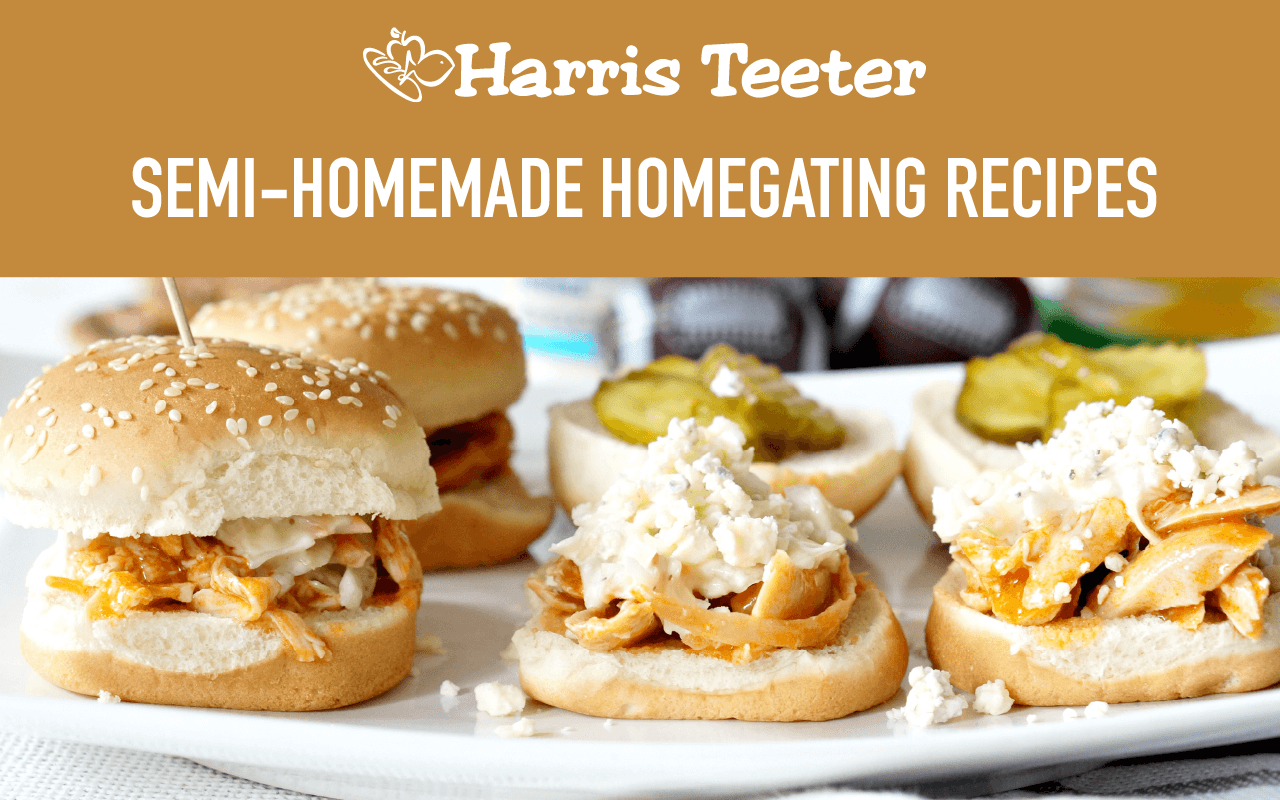 Semi-Homemade Homegating Recipes